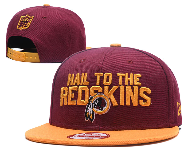 2018 NFL Washington Redskins Snapback hat GSMY06041