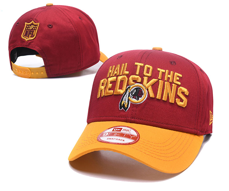 2018 NFL Washington Redskins Snapback hat GSMY06043