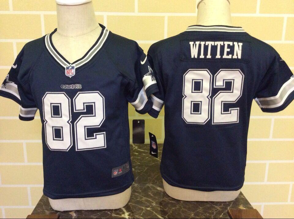 Baby Dallas cowboys 82 Witten Blue Nike NFL Jerseys  201806221702492 ... 796734b0c