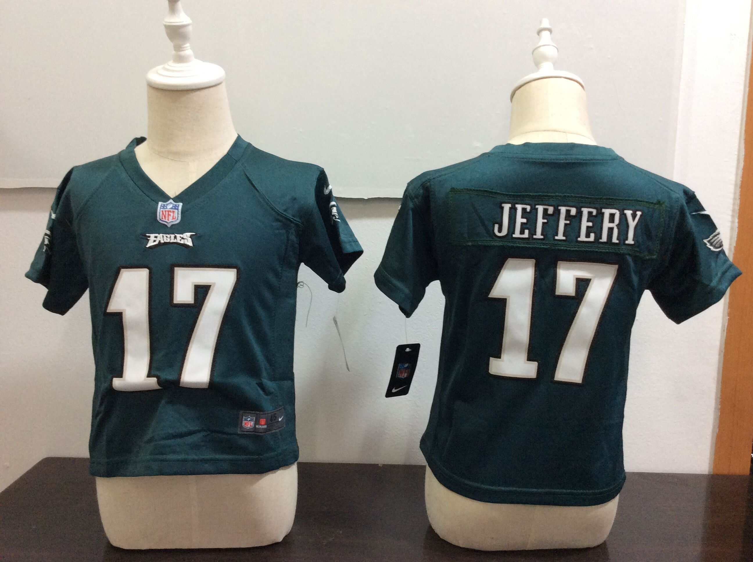 Baby Philadelphia Eagles 17 Jeffery Green Nike NFL Jerseys
