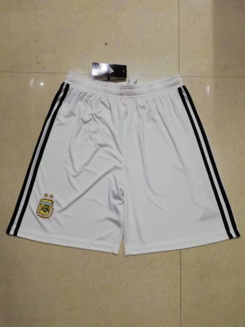 Men 2018 World Cup Argentine away Thai soccer shorts