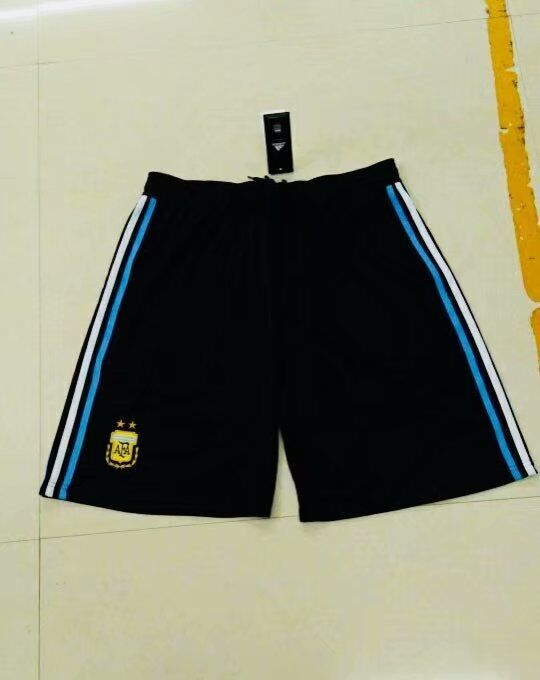 Men 2018 World Cup Argentine home Thai soccer shorts