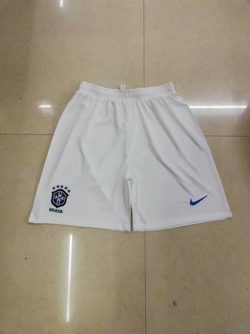 Men 2018 World Cup Brazil away Thai soccer shorts