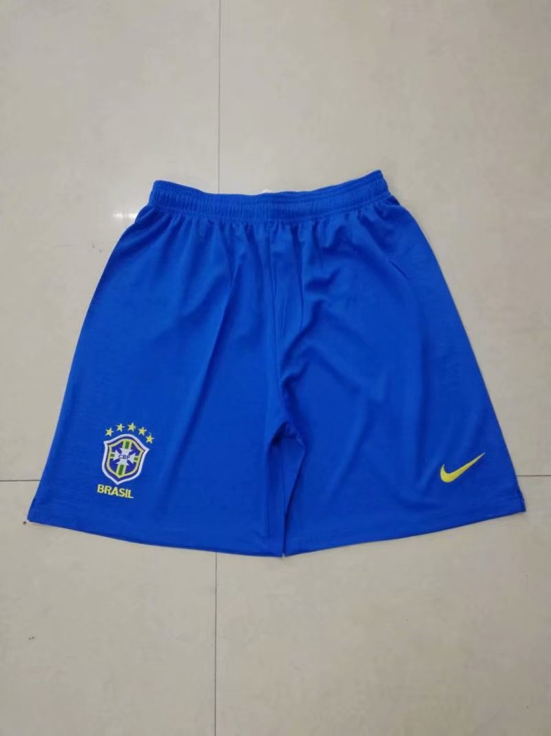 Men 2018 World Cup Brazil home Thai soccer shorts