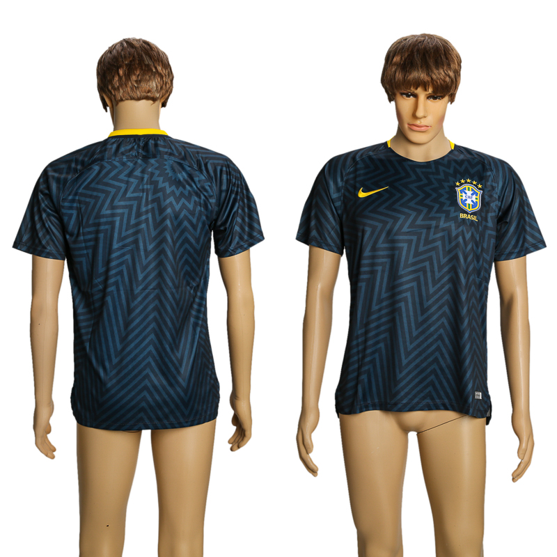Men 2018 World Cup Brazil training suit AAA soccer jersey