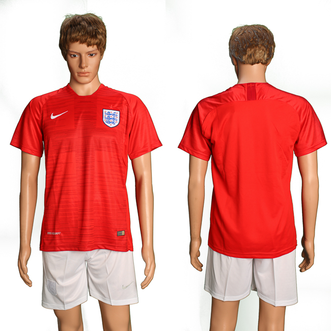 Men 2018 World Cup England away suit soccer jersey
