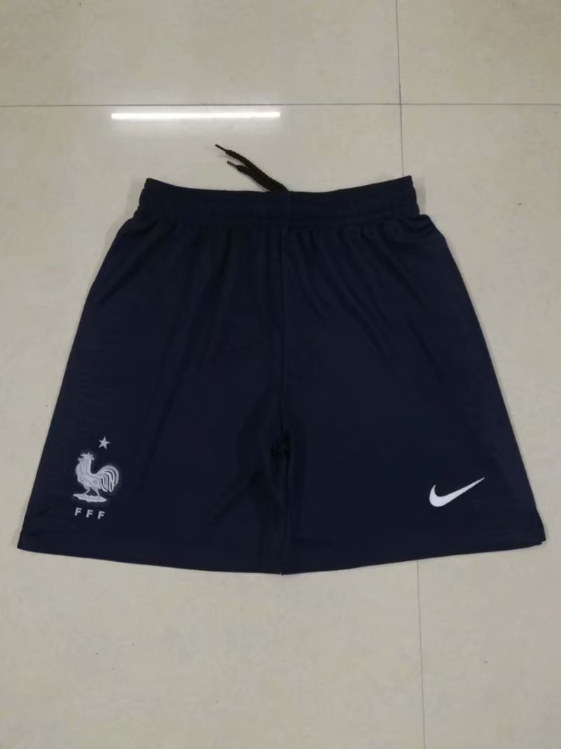 Men 2018 World Cup France away Thai soccer shorts