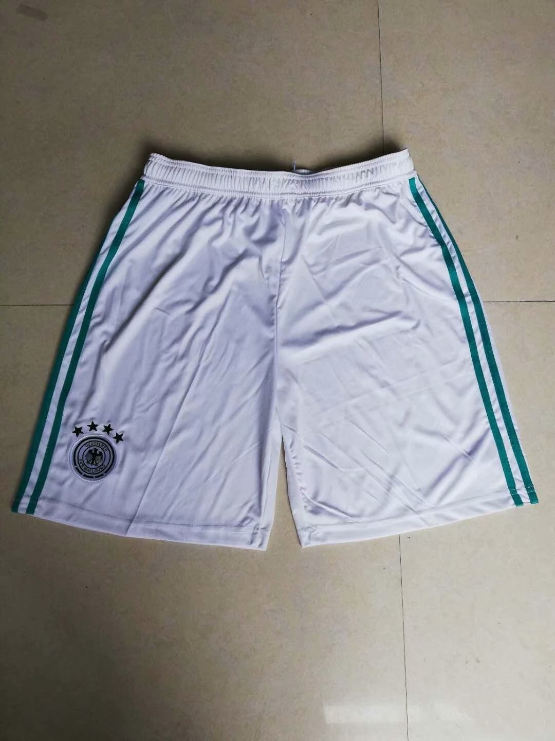 Men 2018 World Cup Germany away Thai soccer shorts