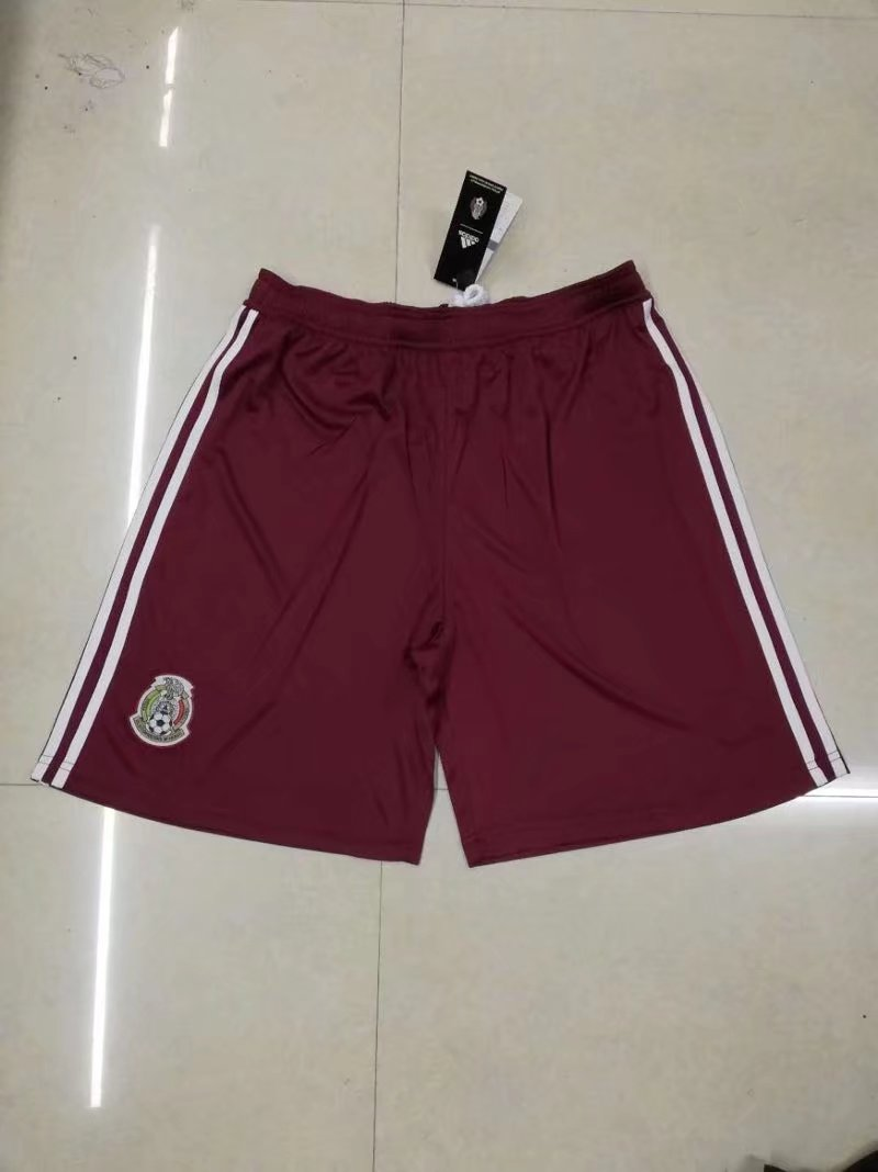 Men 2018 World Cup Mexico away Thai soccer shorts