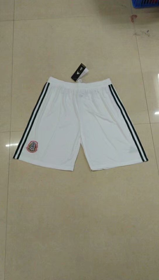 Men 2018 World Cup Mexico home Thai soccer shorts
