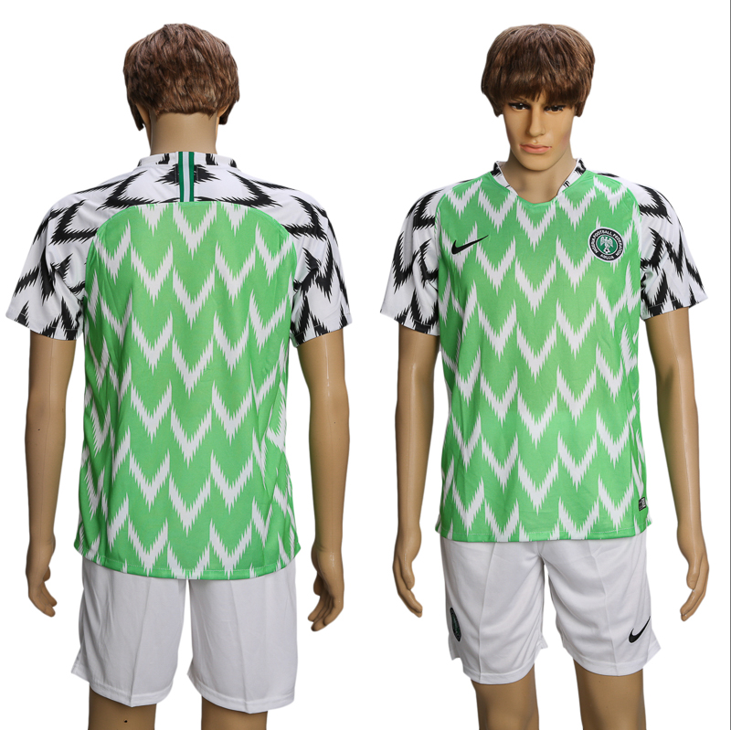 Men 2018 World Cup Nigeria home suit soccer jersey