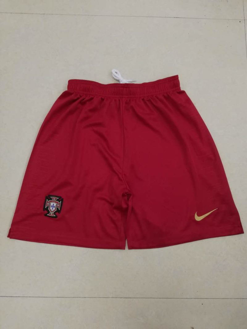 Men 2018 World Cup Portugal home Thai soccer shorts