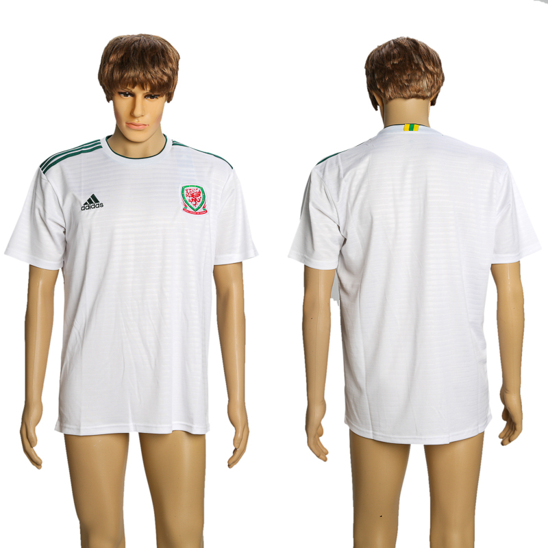 Men 2018-2019 National Wales away AAA soccer jersey