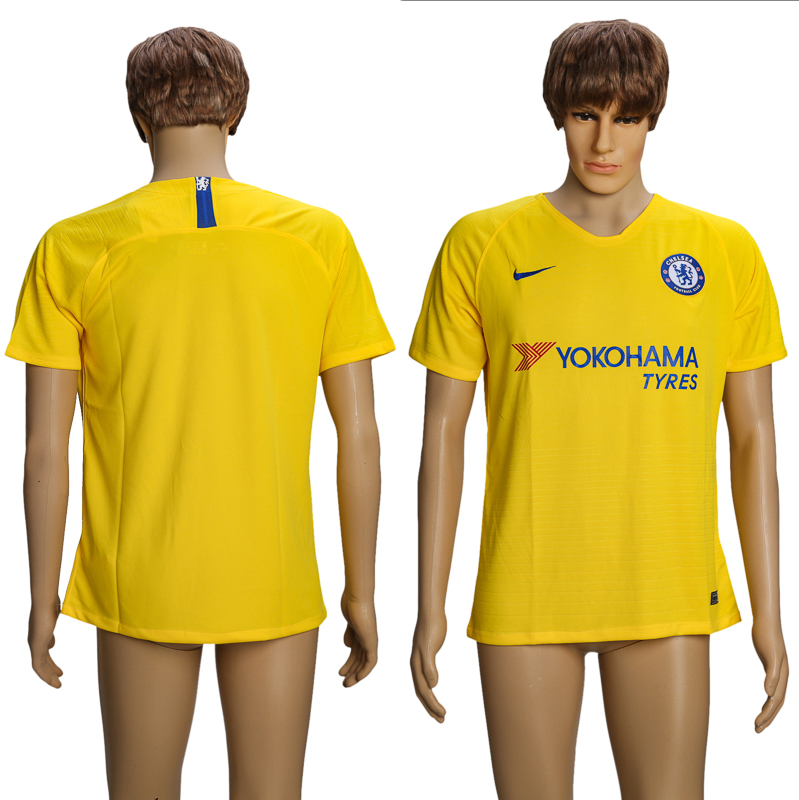 Men 2018-2019 club Chelsea away AAA soccer jersey