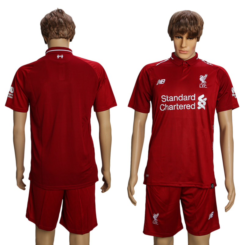 Men 2018-2019 club Liverpool home suit soccer jersey