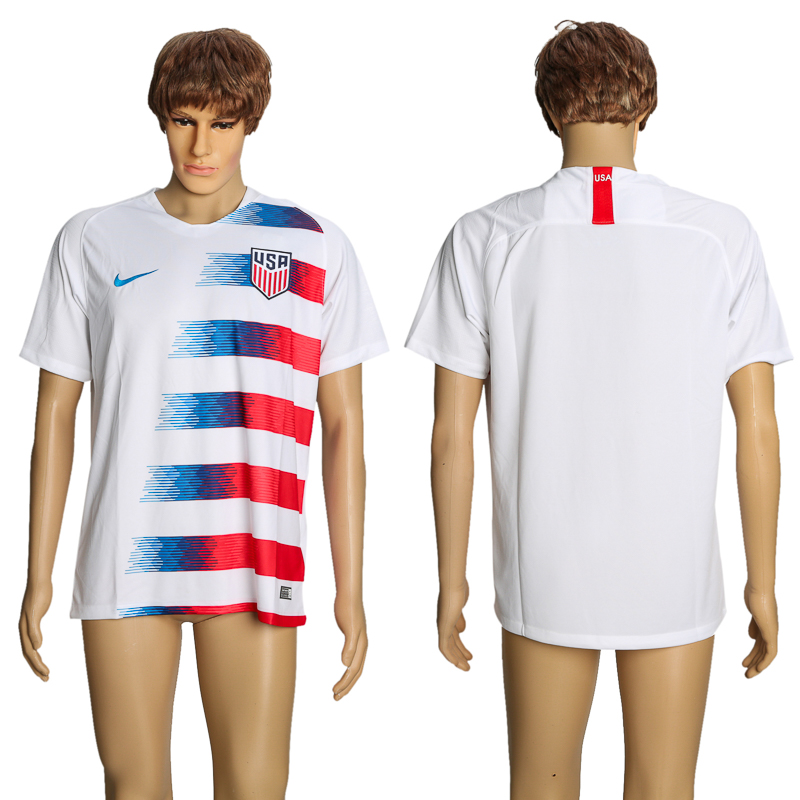 Men 2018-2019 national America home AAA soccer jersey