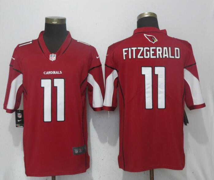 Men Arizona Cardinals 11 Fitzgerald Red Nike Vapor Untouchable Limited Playe NFL Jerseys