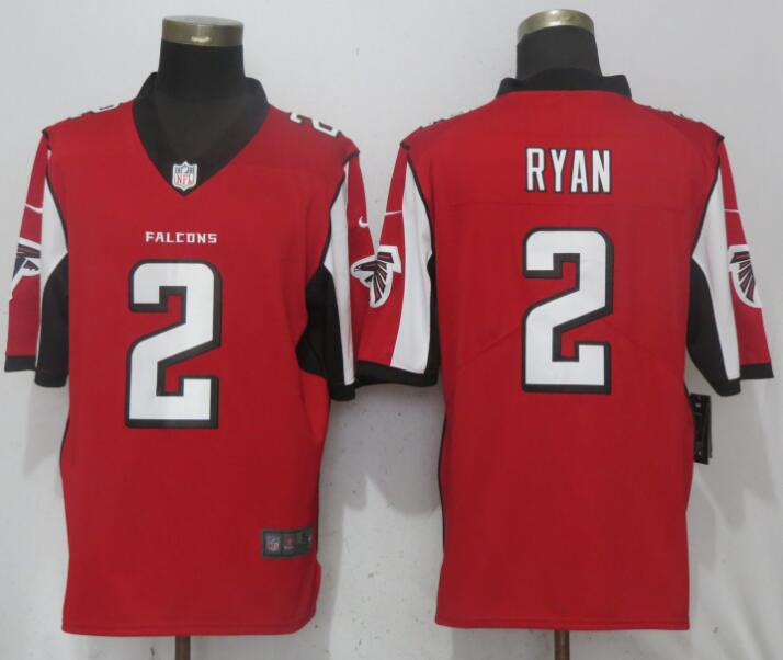 Men Atlanta Falcons 2 Ryan Red Nike Vapor Untouchable Limited Playe NFL Jerseys