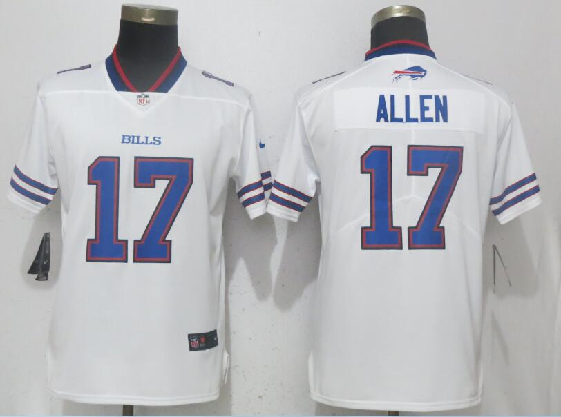Women Buffalo Bills 17 Allen White Nike Vapor Untouchable Limited Playe NFL Jerseys