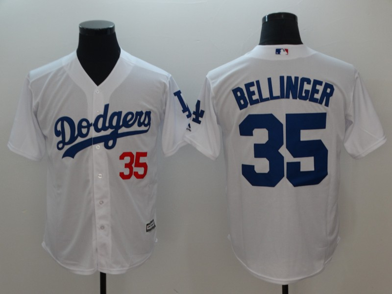 2018 Men Los Angeles Dodgers 35 Bellinger game jerseys