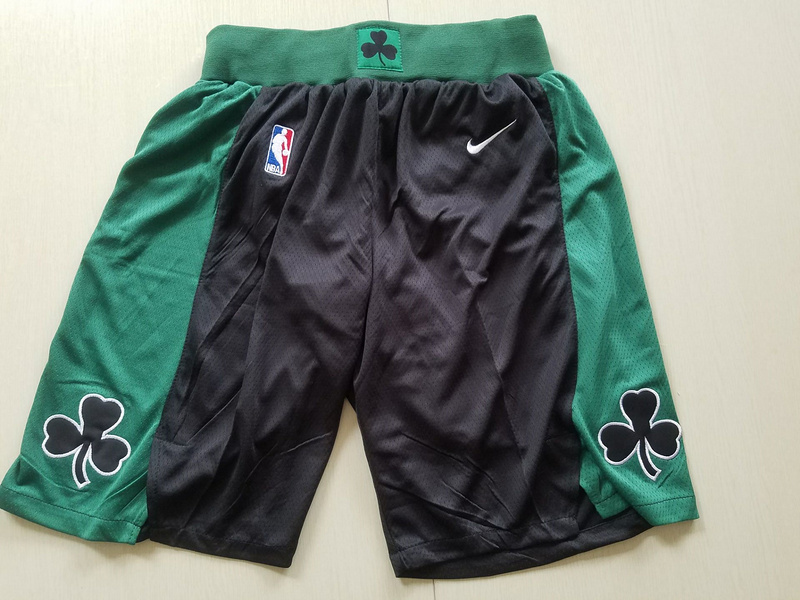 2018 Men NBA Nike Boston Celtics black shorts