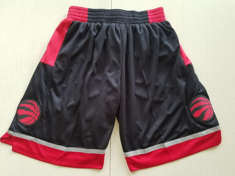 2018 Men NBA Nike Toronto Raptors black shorts
