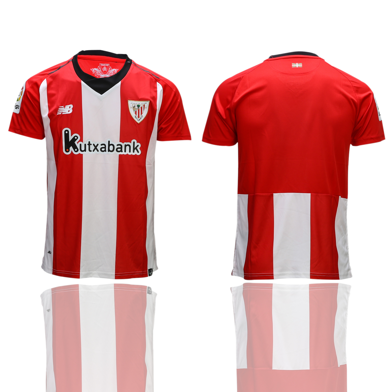 2018-2019 Men club Athletic Bilbao home AAA soccer jerseys