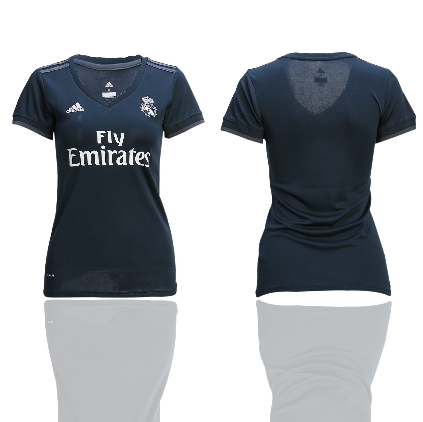 2018-2019 Women club Real Madrid away soccer jerseys