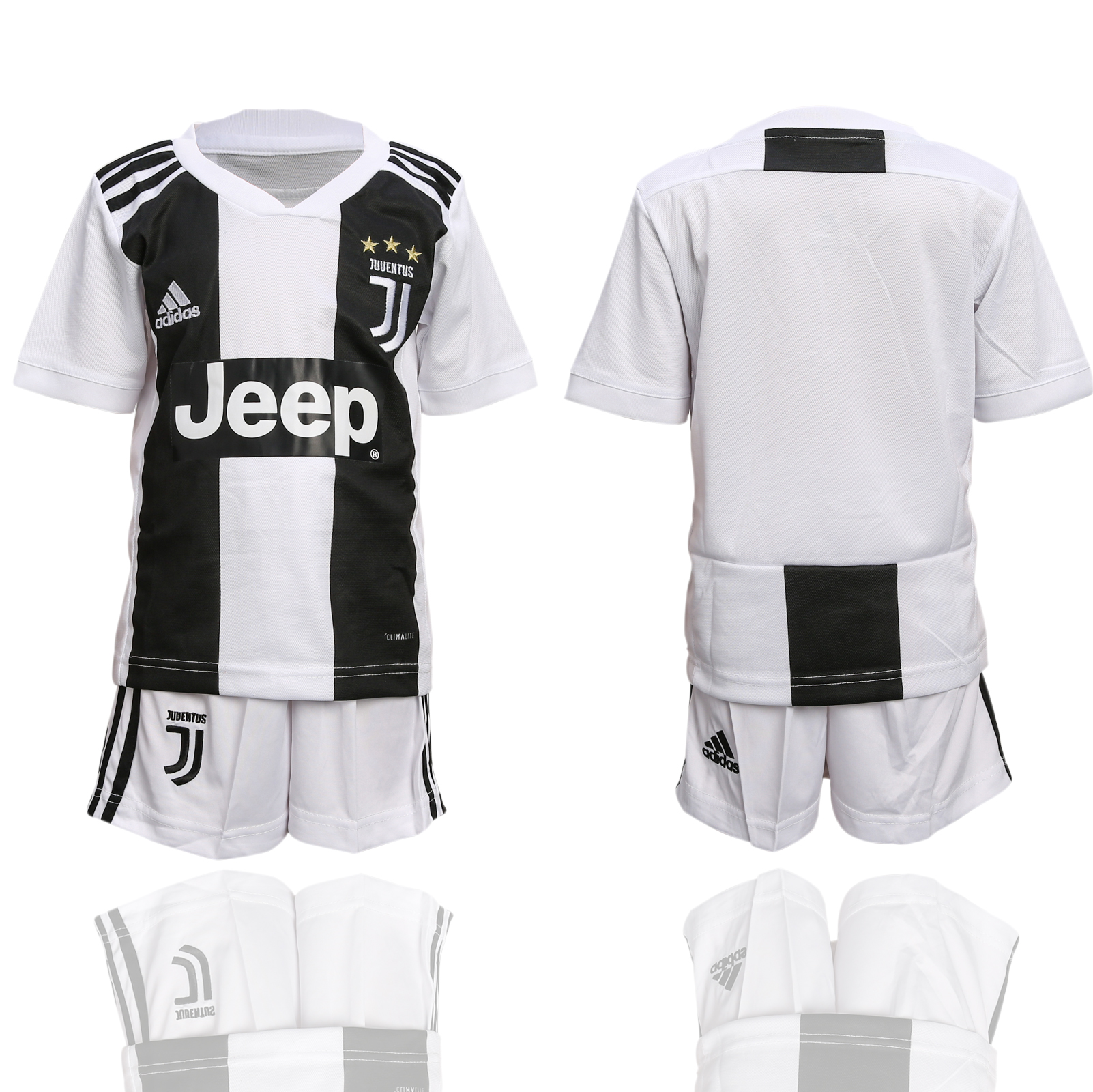 2018-2019 club Juventus home youth soccer jerseys