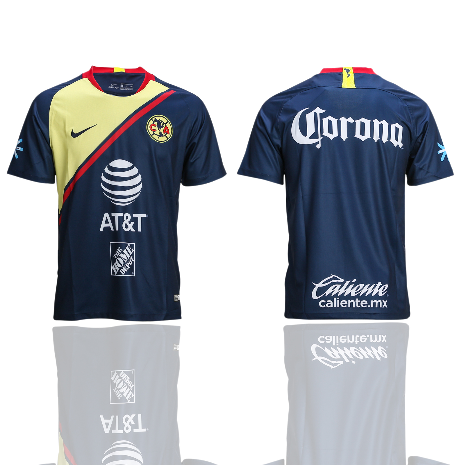2018-2019 club Men America away AAA soccer jerseys