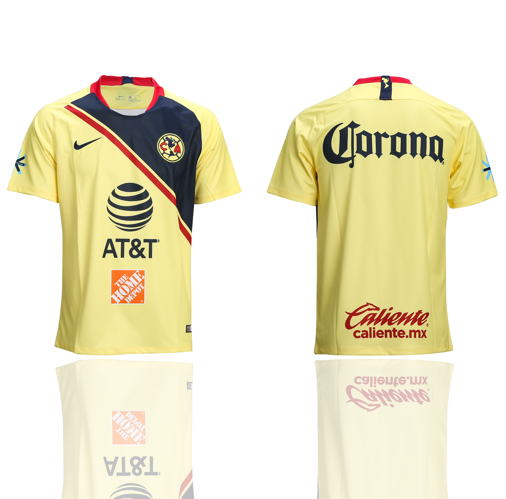 2018-2019 club Men America home AAA soccer jerseys