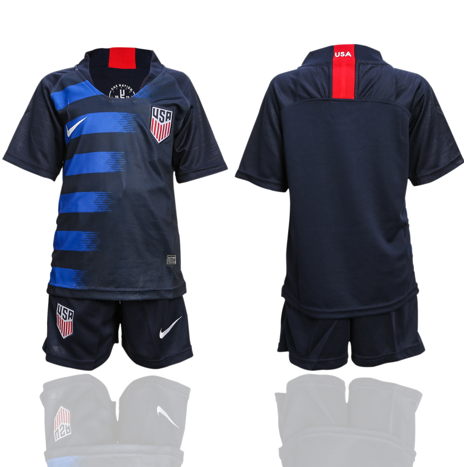 2018-2019 national America away youth soccer jerseys