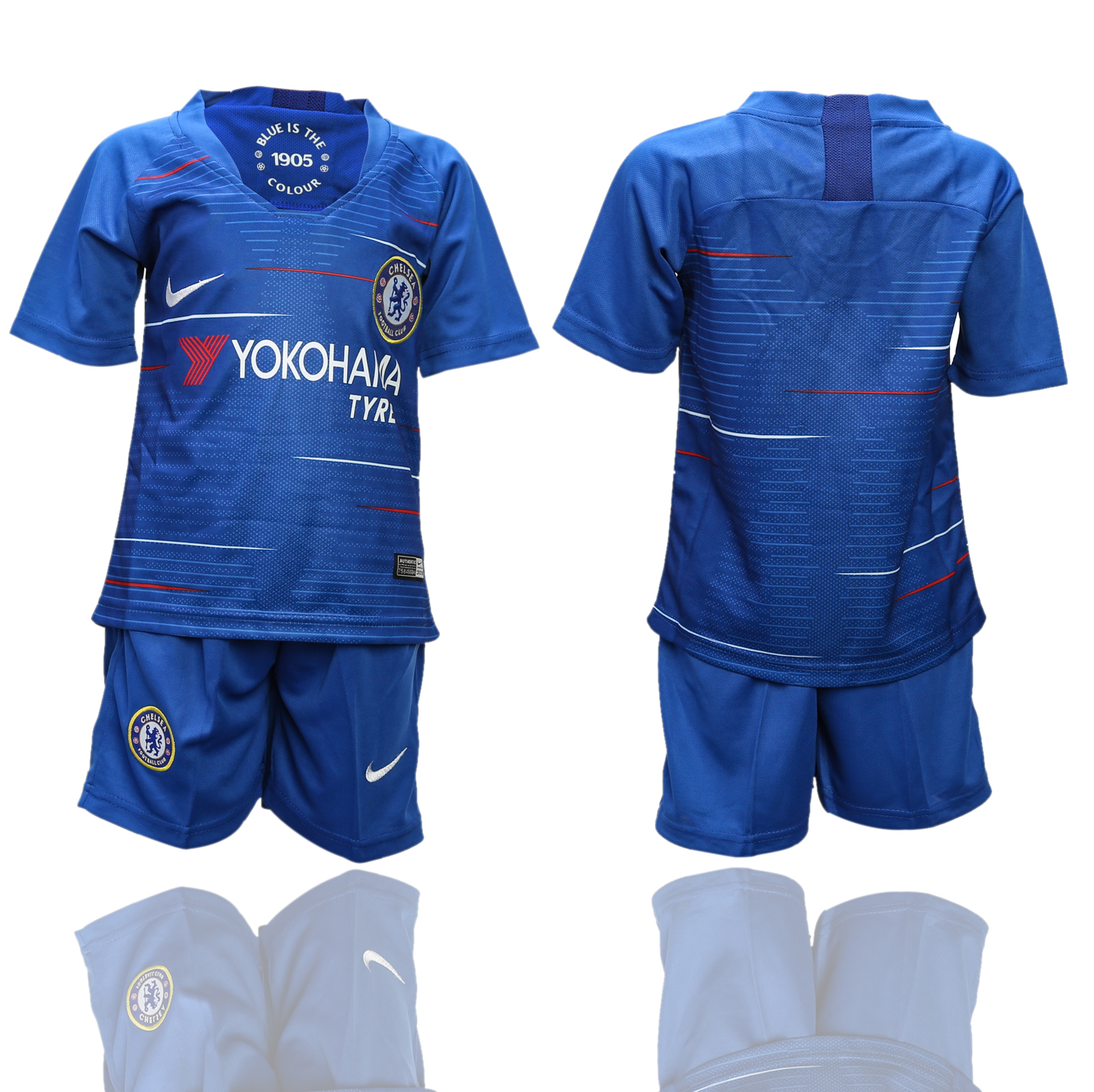 2018-2019 youth club Chelsea home soccer jerseys