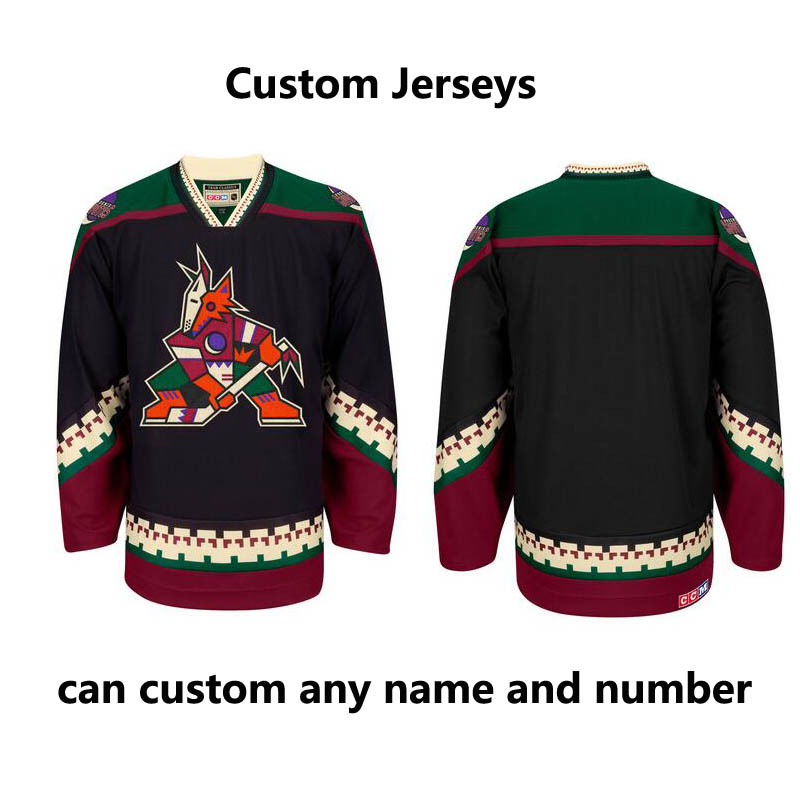 Arizona Coyotes CCM climalite Authentic Team Classic custom NHL Jersey