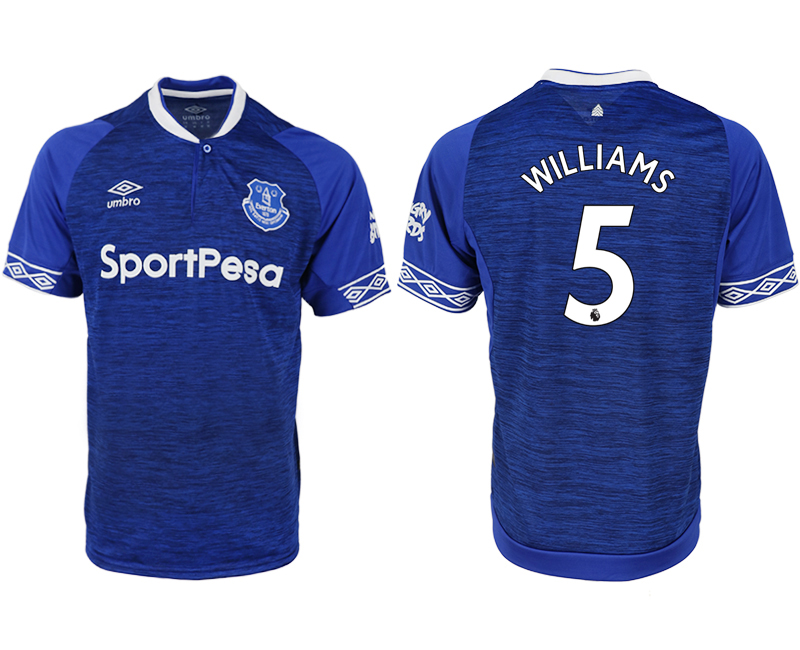 Men 2018-2019 club Everton FC home aaa versio 5 blue soccer jersey