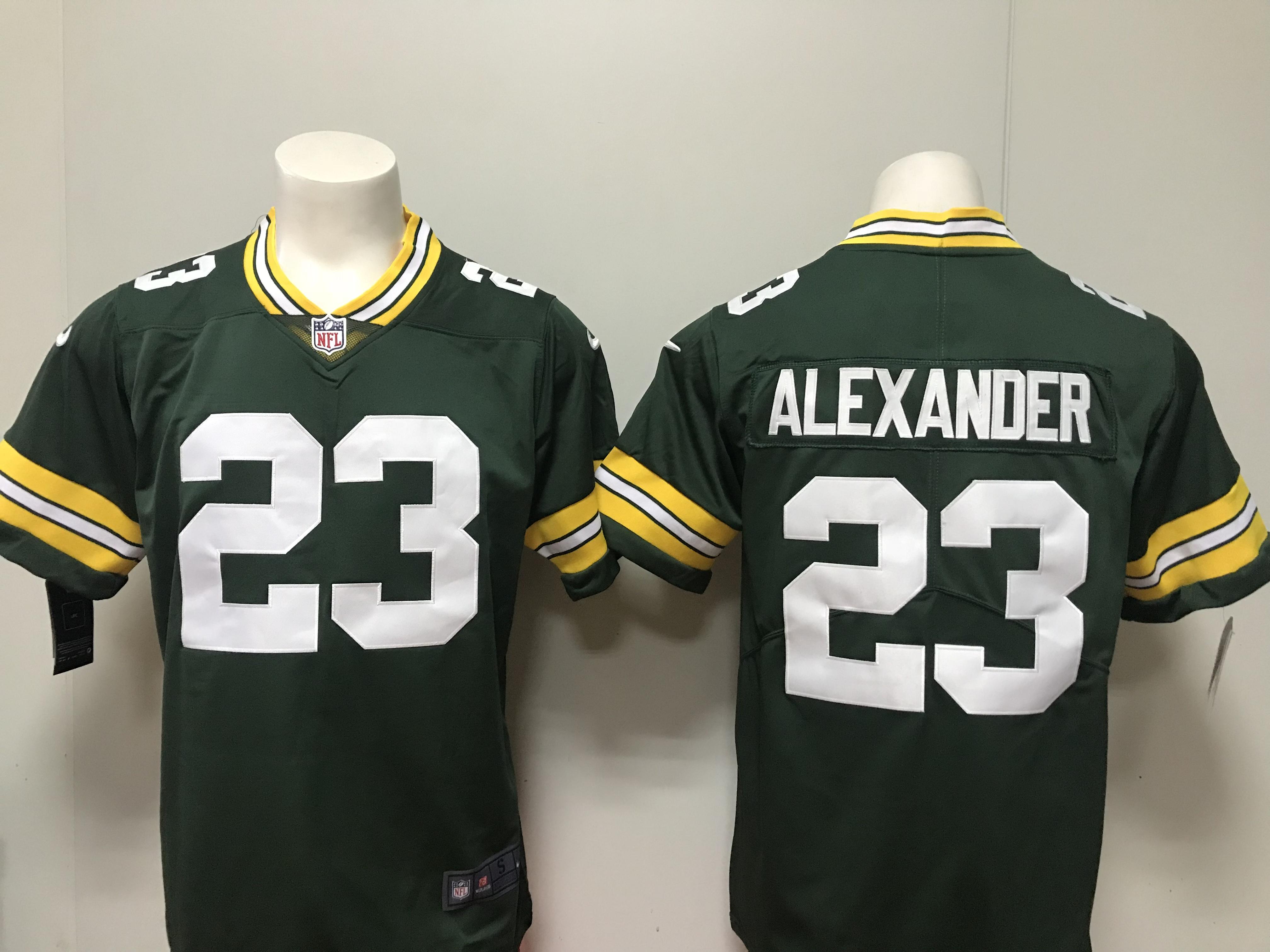 7c84be290 Men Green Bay Packers 23 Alexander green Vapor Untouchable Player Nike  Limited NFL Jerseys