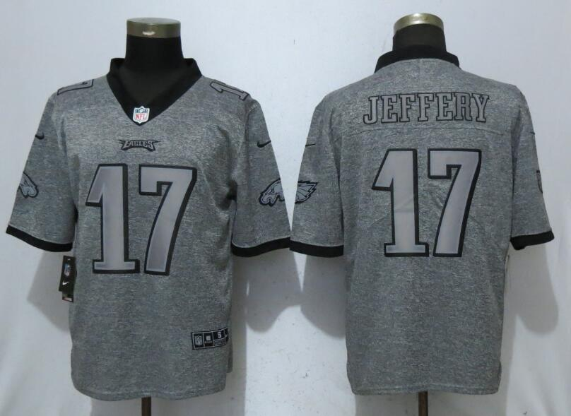 Men Philadelphia Eagles 17 Jeffery Gray Vapor Untouchable Stitched Gridiron Limited Nike NFL Jerseys