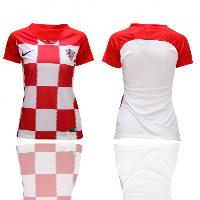 Women 2018 World Cup National Croatia Home soccer jerseys