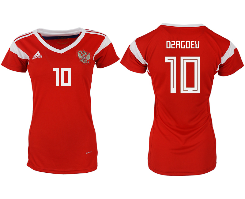 Women 2018 World Cup Russia home aaa version 10 red soccer jerseys