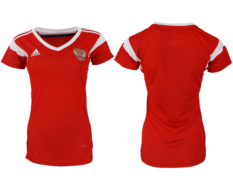 Women 2018 World Cup Russia home aaa version red soccer jerseys