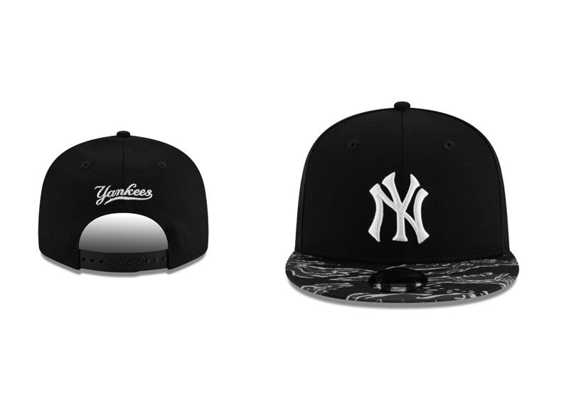2018 MLB New York Yankees Snapback hat LTMY818