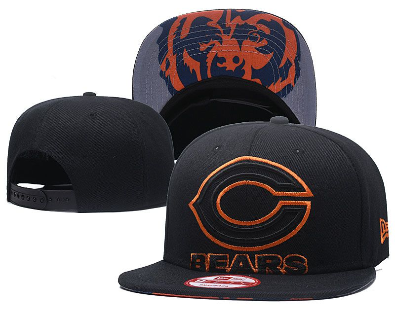 2018 NBA Chicago Bears Snapback hat GSMY818