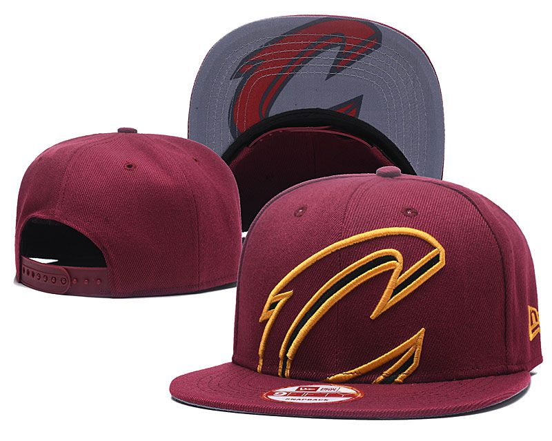 2018 NBA Cleveland Cavaliers Snapback hat GSMY8181