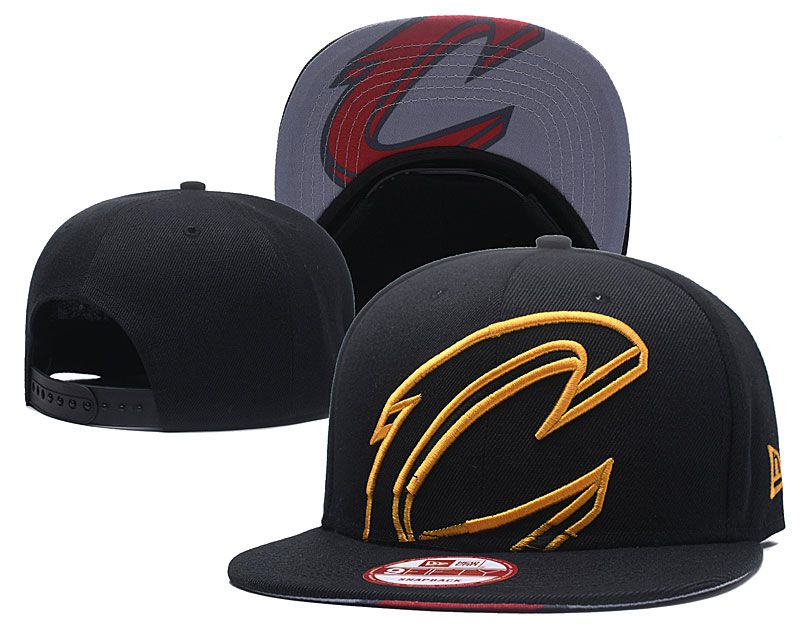 2018 NBA Cleveland Cavaliers Snapback hat GSMY8182