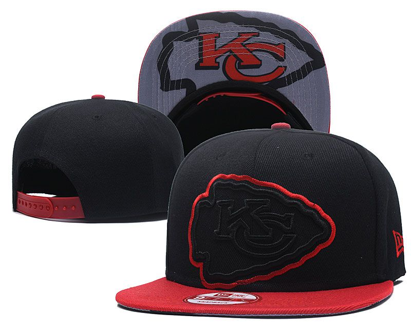 2018 NFL Kansas City Chiefs Snapback hat GSMY818