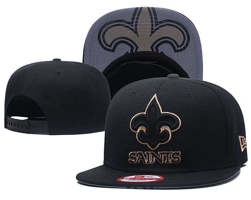 2018 NFL New Orleans Saints Snapback hat GSMY818