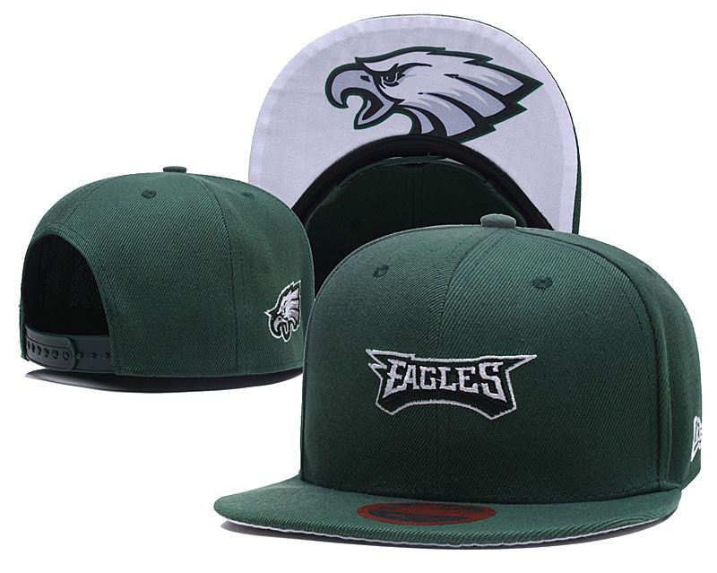 2018 NFL Philadelphia Eagles Snapback hat LTMY8181