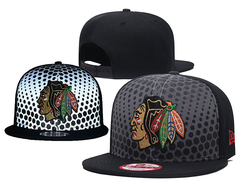 2018 NHL Chicago Blackhawks Snapback hat GSMY8181