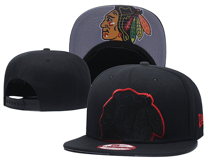 2018 NHL Chicago Blackhawks Snapback hat GSMY8182