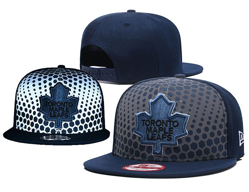 2018 NHL Toronto Maple Leafs Snapback hat GSMY818